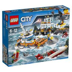 60167 LEGO® CITY Pakrančių apsaugos būstinė