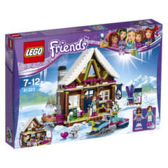 41323 LEGO® Friends Slidinėjimo kurorto trobelė
