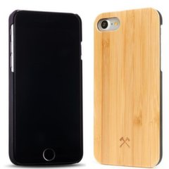 Apsauginis dėklas Woodcessories Bamboo ECO118 skirtas Apple iPhone 7, Apple iPhone 8