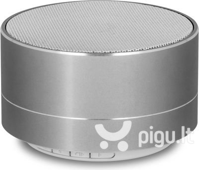 Forever PBS-100 Bluetooth Wireless Speaker with Micro SD / Radio / Silver