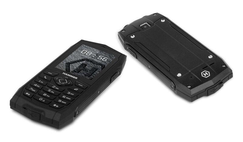 MyPhone HAMMER 3+ Dual SIM, Black kaina