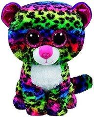 Pliušinis žaislas Ty Beanie Boos DOTTY spalvotas leopardas, 23 cm, 37074
