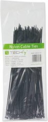 Techly Nylon Clamps 100 x 2.5mm 100 pcs, Black (306356) kaina ir informacija | Techly Nylon Clamps 100 x 2.5mm 100 pcs, Black (306356) | pigu.lt