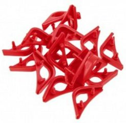 Noctua Chromax Anti-Vibration Fan Mount Set, 16 pcs, Red (NA-SAVP1.red)