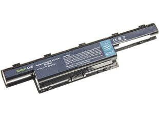 Green Cell Laptop Battery for Acer Aspire 5733 5741 5742 5742G 5750G E1-571 TravelMate 5740 5742 6600mAh
