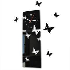 Sieninis laikrodis Skrajojantys drugeliai. Vertikalus