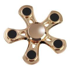 """""""Fidget Spinner"""" aukso spalvos prabangus suktukas (juodoje dėžutėje)"""