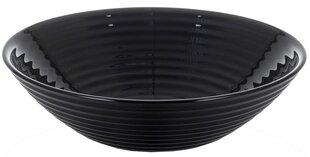 Juodas dubenėlis Luminarc HARENA BLACK, 16 cm kaina ir informacija | Indai, lėkštės, pietų servizai | pigu.lt