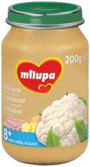 Žiedinių kopūstų, kumpio ir bulvių tyrelė Milupa, 8 mėn+, 200 g