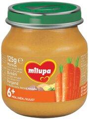 Daržovių ir erienos tyrelė Milupa, 6 mėn+, 125 g