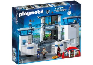 6919 PLAYMOBIL® City Action, Policijos nuovada su kaliniais
