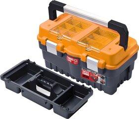 Dėžė įrankiams Patrol Formula S500 Carbo, oranžinė kaina ir informacija | Įrankių dėžės, laikikliai | pigu.lt
