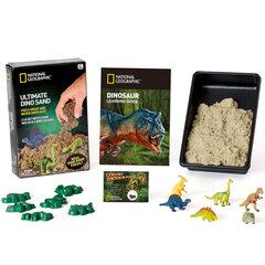 National Geographic kinetinis smėlis su dinozaurais