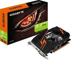 Gigabyte GT 1030 OC 2GB GDDR5 (64 bit), DVI-D, HDMI, BOX (GV-N1030OC-2GI) kaina ir informacija | Gigabyte GT 1030 OC 2GB GDDR5 (64 bit), DVI-D, HDMI, BOX (GV-N1030OC-2GI) | pigu.lt