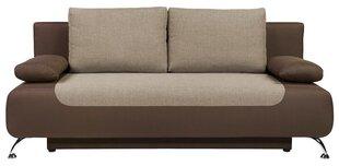 Sofa Daria III Lux 3DL, ruda kaina ir informacija | Sofos, foteliai ir minkšti kampai | pigu.lt
