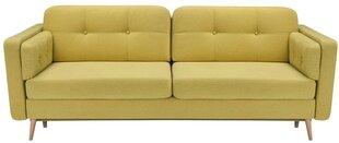 Sofa Cornet III LUX, geltona kaina ir informacija | Sofos, foteliai ir minkšti kampai | pigu.lt