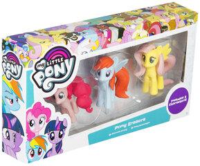 Figūrėlių-trintukų rinkinys My Little Pony, 3vnt
