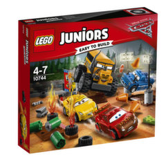 Konstruktorius LEGO® Juniors Pašėlusio 8-eto lenktynės Griaustinio slėnyje 10744 kaina ir informacija | Konstruktoriai ir kaladėlės | pigu.lt