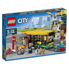Konstruktorius LEGO® City Autobusų stotis 60154 kaina ir informacija | Konstruktoriai ir kaladėlės | pigu.lt