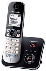 Stacionarus telefonas PANASONIC KX-TG6821JTB, sidabrinė