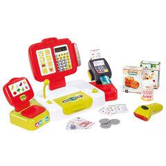 Žaislinis kasos aparatas su 27 priedais Smoby kaina ir informacija | Žaislai mergaitėms | pigu.lt