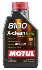 Alyva Motul 8100 X-Clean Efe C2/C3 Synthetic, 5W30, 1L