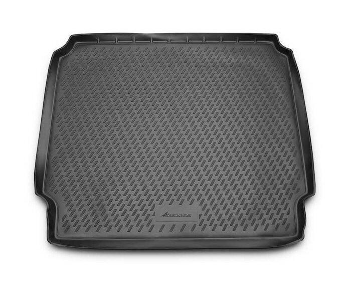 Guminis bagažinės kilimėlis OPEL Zafira C 2012-> (folded 3th row) black /N29020