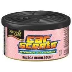 Automobilinis oro gaiviklis California Scents Balboa Bubblegum kaina ir informacija | Salono oro gaivikliai | pigu.lt