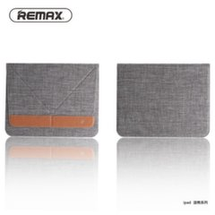 Remax Winger universal smart ultra thin pouch case with stand for Tablet PC till 9.7 inches (240x169.5x6.1mm) Grey