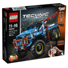 Konstruktorius LEGO® Technic 6 x 6 visureigis vilkikas 42070 kaina ir informacija | Konstruktoriai ir kaladėlės | pigu.lt