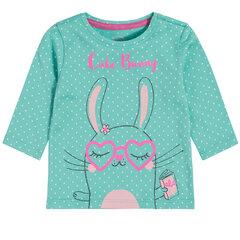Cool Club marškinėliai mergaitėms, ilgos rankovės, CCG1501934