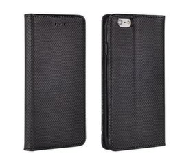 Mocco Smart Magnet Book Case For Apple iPhone 5 / 5S / SE Black