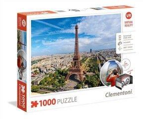 Dėlionė Puzzle Clementoni PARIS ir virtualios realybės akiniai kaina ir informacija | Dėlionės (puzzle) | pigu.lt