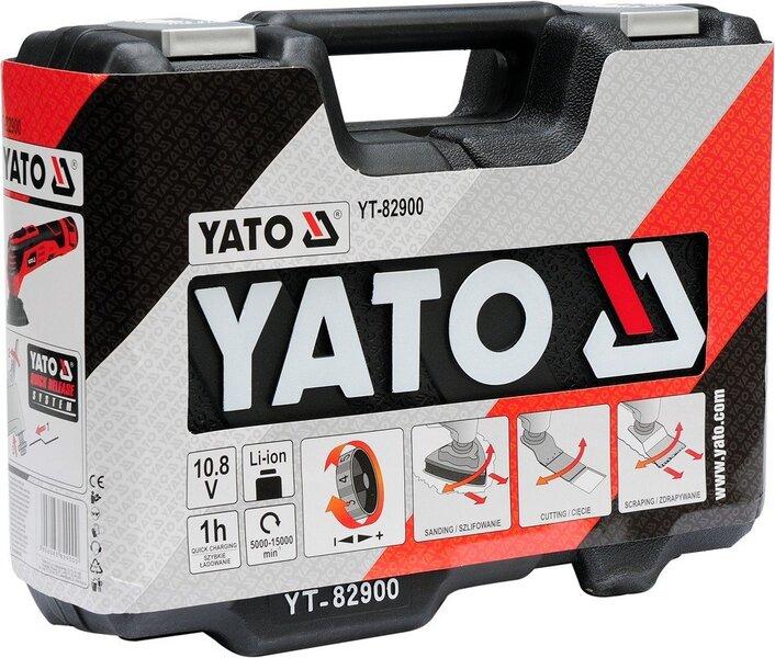 Daugiafunkcinis akumuliatorinis įrankis 10.8V Li-ion Yato YT-82900 atsiliepimas