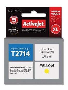 Activejet Epson AE-27YNX geltona 27XL 5901443106180 kaina ir informacija | Kasetės rašaliniams spausdintuvams | pigu.lt