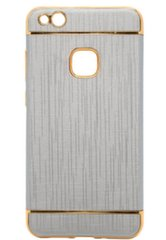 Mocco Exclusive Crown Back Case Silicone Case With Golden Elements for Apple iPhone 5 / 5S / SE Grey