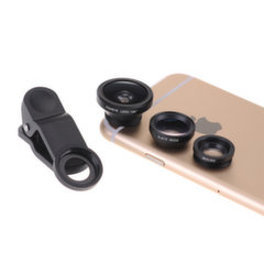 K905 Clip Lens 3in1 rinkinys fish eye