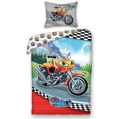 Patalynės komplektas Motociklas, 2 dalių kaina ir informacija | Patalynė kūdikiams, vaikams | pigu.lt
