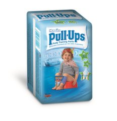 Sauskelnės HUGGIES Pull Ups Boys, M dydis (8-15 kg), 16 vnt.