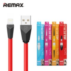 Remax Alien Super Flat Lightning to USB Data & Charger Cable 1m Red (MD818)