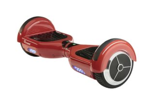 SkyMaster Powerfull Scooter for Kids IP54 / 300W / 4.5'' / 10 km / 60 kg Red