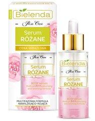 Drėkinamasis veido serumas su rožių vandeniu Bielenda Rose Care 30 ml