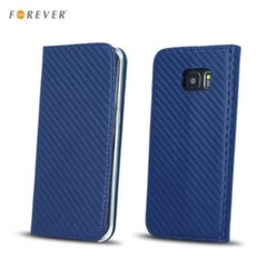 Forever Carbon Smart Magnetic Fix Book Case without clip Samsung J530F Galaxy J5 (2017) Dark Blue