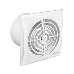Ištraukimo ventiliatorius Awenta, Silence WZ 100, 100mm, balta