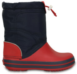 Crocs™ žieminiai batai Crocband LodgePoint Boot, K Navy/Red