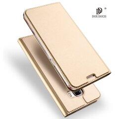 Dux Ducis Premium Magnetinis dėklas telefonui Huawei P10 auksinis
