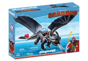 9246 PLAYMOBIL® Dragons, Drakonas ir karys