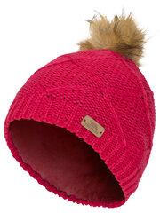 Trespass žieminė kepurė mergaitėms Tanisha, raspberry kaina ir informacija | Žiemos drabužiai vaikams | pigu.lt