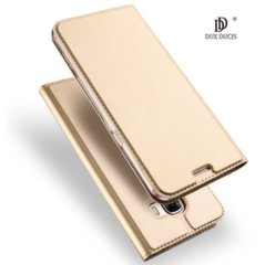 Dux Ducis Premium Magnetinis dėklas telefonui Apple iPhone X auksinis