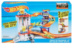 Trasa Hot Wheels Speedtropolis